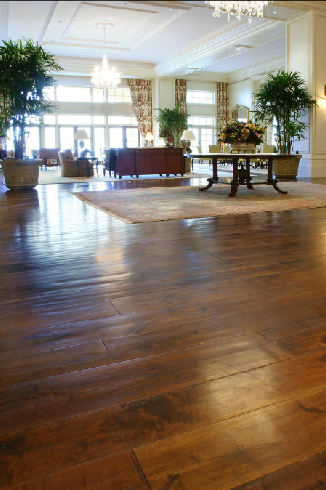 Commercial hardwood flooring for Old world floors