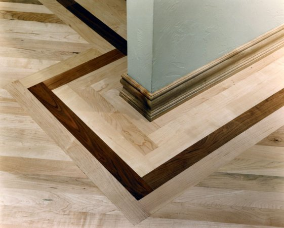Custom hardwood floor design montgomeryville pa for Hardwood floor designs borders