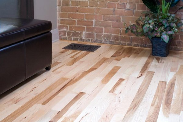 Appalachian Solid Natural Hickory with Pattern