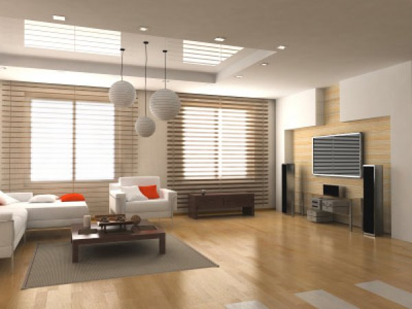 Bamboo Flooring with Design
