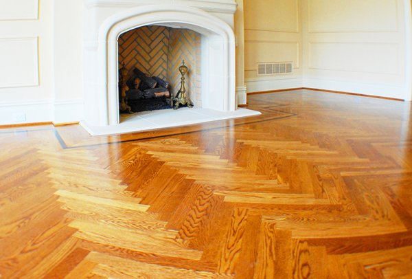 Hardwood Floor Design Ideas 600 x 406