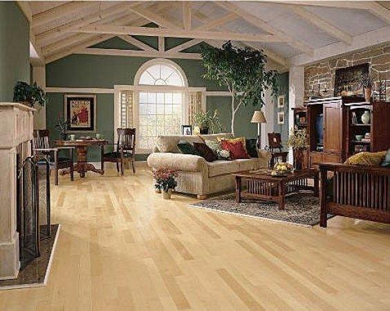 Natural Maple Flooring