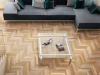 Indusparquet Imported Solid Tauari with Herringbone Design