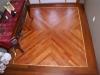 Mahogany Floor with Pattern
