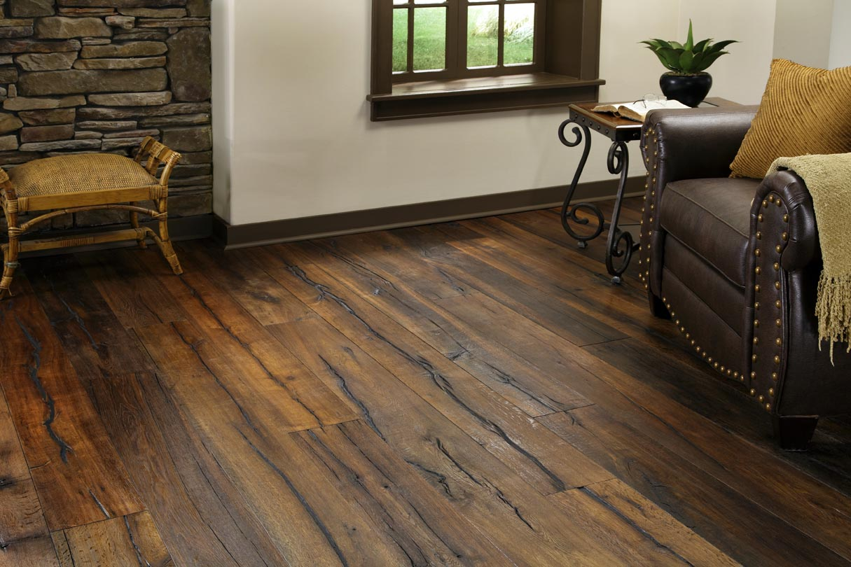 US Floors Solid Distressed Hardwood