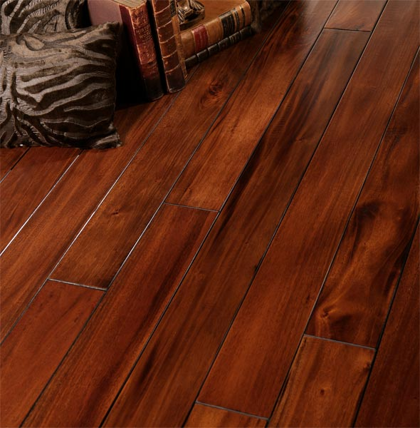 Hand Scraped And Distressed Hardwood Flooring