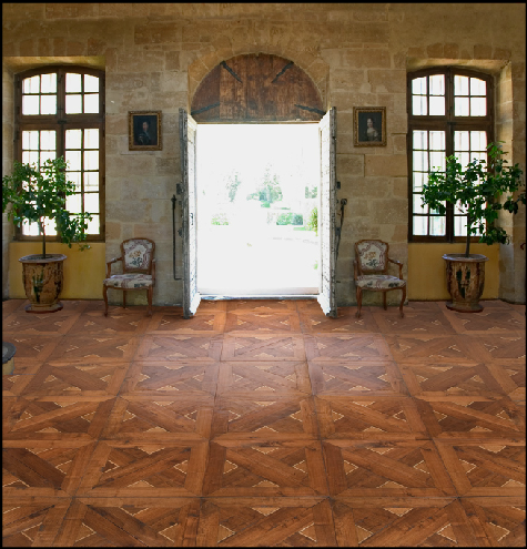 Patina Old World Flooring Hand Scraped Parquet
