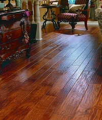 Aacer Engineered Hand Scraped Red Oak