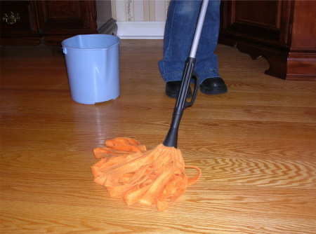 how to clean original hardwood floors