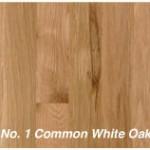 No. 1 Common White Oak