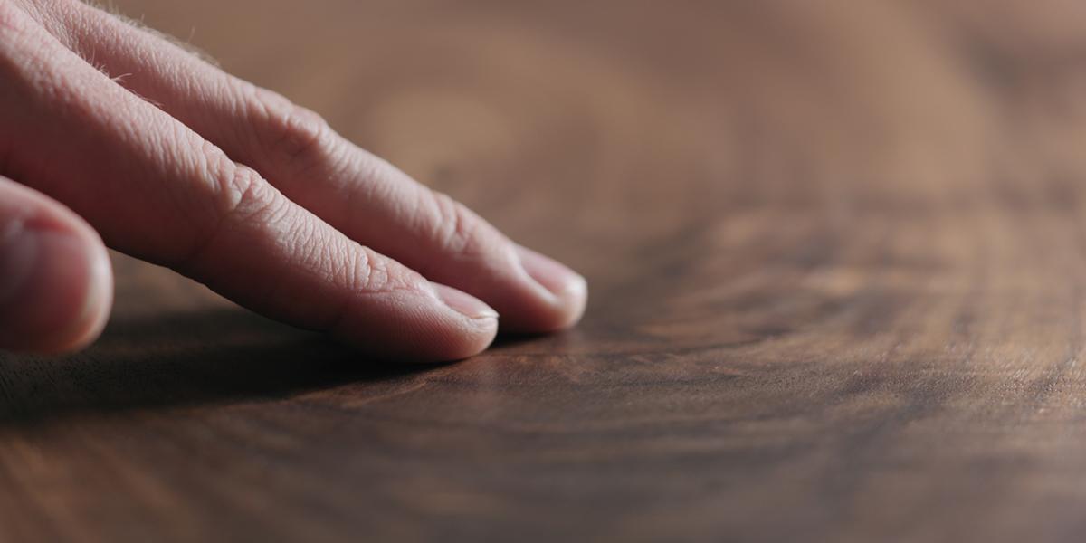 how should I stain walnut flooring